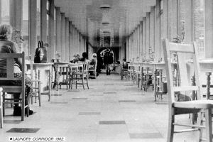 The laundry corridor 1962 